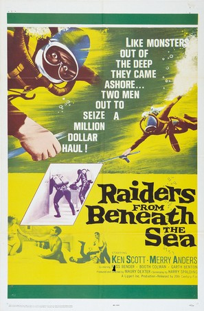 Raiders from Beneath the Sea - Movie Poster (thumbnail)