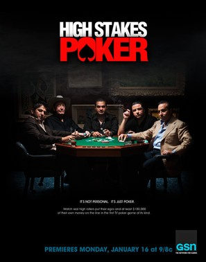 """High Stakes Poker"" - Movie Poster (thumbnail)"