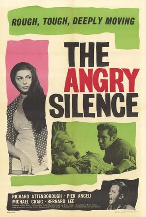 The Angry Silence - British Movie Poster (thumbnail)