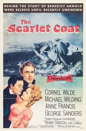 The Scarlet Coat - Movie Poster (thumbnail)