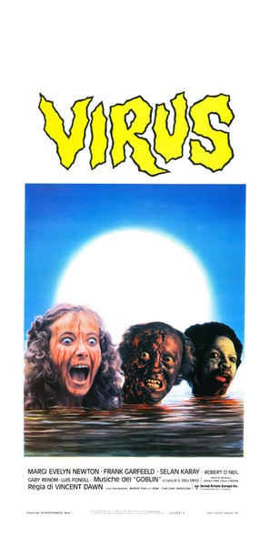 Virus - Italian Movie Poster (thumbnail)