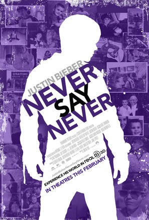 Justin Bieber: Never Say Never - Movie Poster (thumbnail)