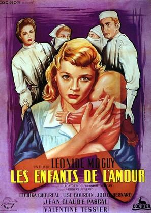 Les enfants de l'amour - French Movie Poster (thumbnail)