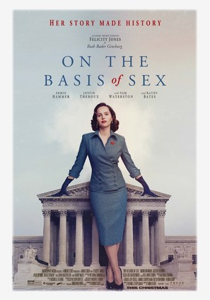 On the Basis of Sex - Movie Poster (thumbnail)