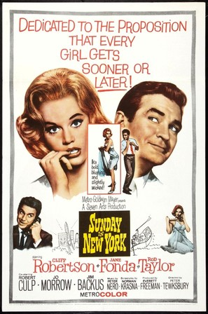 Sunday in New York - Movie Poster (thumbnail)