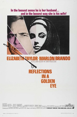 Reflections in a Golden Eye - Movie Poster (thumbnail)