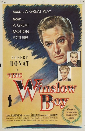 The Winslow Boy - Movie Poster (thumbnail)