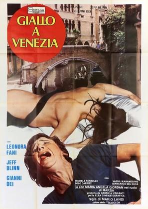 Giallo a Venezia - Italian Movie Poster (thumbnail)