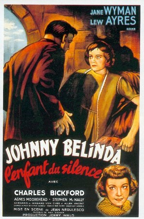 Johnny Belinda - French Movie Poster (thumbnail)