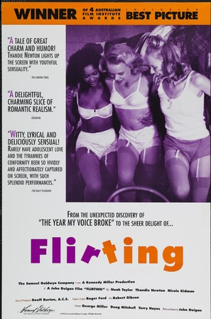 Flirting - Movie Poster (thumbnail)