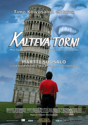 Kalteva torni - Finnish Movie Poster (thumbnail)