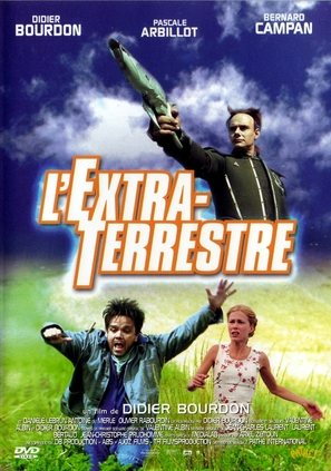 L'extraterrestre - French DVD movie cover (thumbnail)