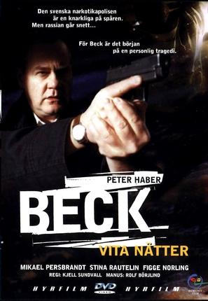 """Beck"" Vita nätter - Swedish poster (thumbnail)"