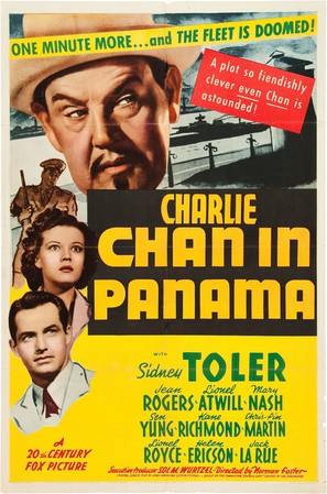 Charlie Chan in Panama - Movie Poster (thumbnail)