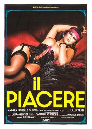 Il piacere - Italian Movie Poster (thumbnail)