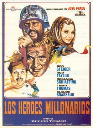 Gli eroi - Spanish Movie Poster (thumbnail)