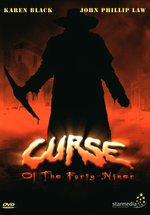 Curse of the Forty-Niner - Swedish poster (thumbnail)
