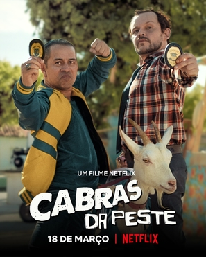 Cabras da Peste - Brazilian Movie Poster (thumbnail)