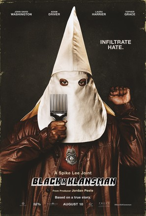 BlacKkKlansman - Movie Poster (thumbnail)
