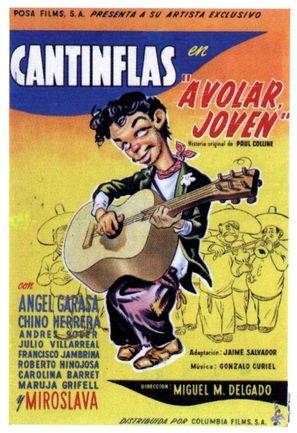¡A volar joven! - Mexican Movie Poster (thumbnail)
