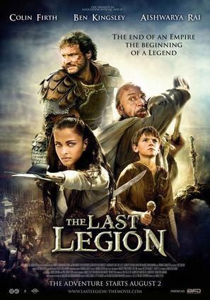 The Last Legion - Dutch Movie Poster (thumbnail)
