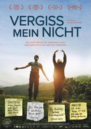 Vergiss mein nicht - German Movie Poster (thumbnail)
