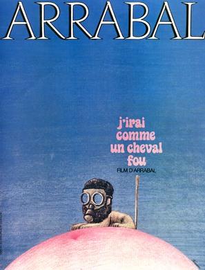 J'irai comme un cheval fou - French Movie Poster (thumbnail)