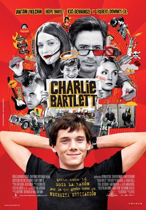 Charlie Bartlett - Spanish Movie Poster (thumbnail)