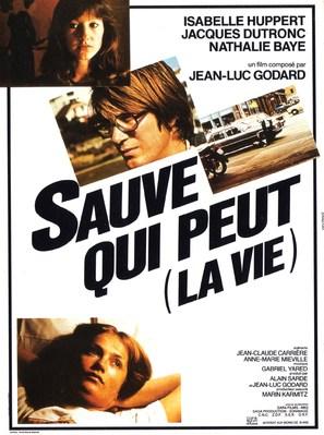 Sauve qui peut - French Movie Poster (thumbnail)