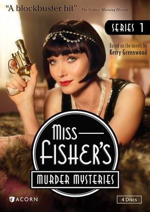 Miss Fisher's Murder Mysteries - DVD movie cover (thumbnail)