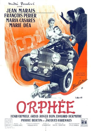 Orphée - French Movie Poster (thumbnail)