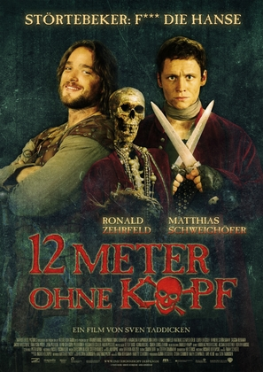 Zwölf Meter ohne Kopf - German Movie Poster (thumbnail)