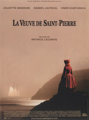 La veuve de Saint-Pierre - French Movie Poster (thumbnail)