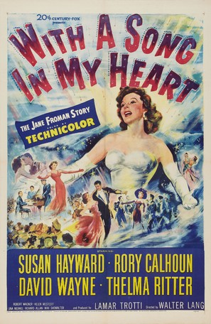With a Song in My Heart - Movie Poster (thumbnail)