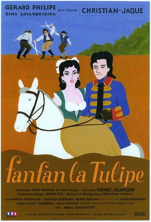 Fanfan la Tulipe - French Movie Poster (thumbnail)