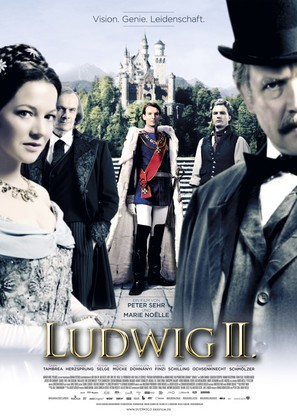 Ludwig II - German Movie Poster (thumbnail)