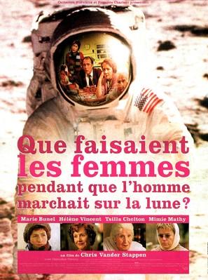 Que faisaient les femmes pendant que l'homme marchait sur la lune? - French Movie Poster (thumbnail)