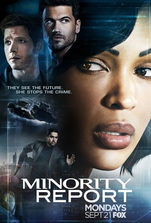 """Minority Report"" - Movie Poster (thumbnail)"