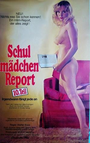 Schulmädchen-Report 10: Irgendwann fängt jede an - German Movie Poster (thumbnail)