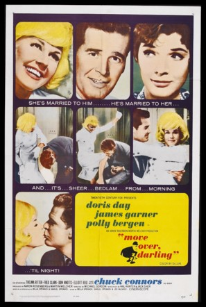 Move Over, Darling - Theatrical poster (thumbnail)