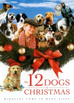 The 12 Dogs of Christmas - DVD cover (thumbnail)
