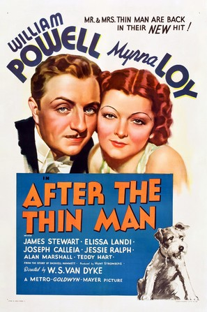 After the Thin Man - Theatrical poster (thumbnail)