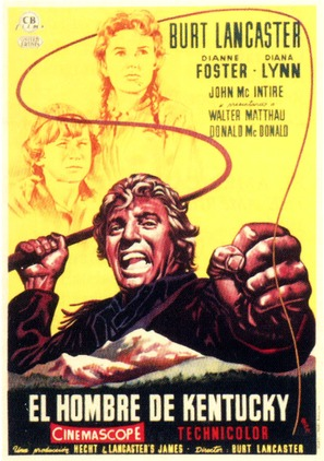 The Kentuckian - Spanish Movie Poster (thumbnail)