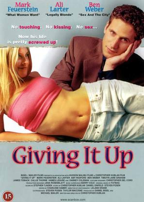Giving It Up - Danish poster (thumbnail)