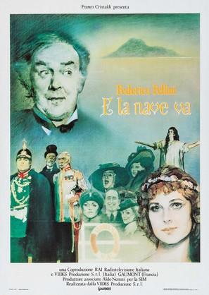 E la nave va - Italian Movie Poster (thumbnail)