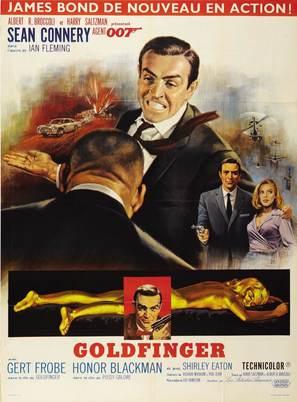 Goldfinger - French Movie Poster (thumbnail)