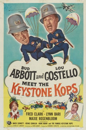 Abbott and Costello Meet the Keystone Kops - Movie Poster (thumbnail)