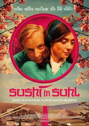 Sushi in Suhl - German Movie Poster (thumbnail)