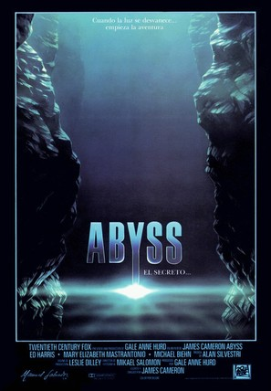 The Abyss - Spanish Movie Poster (thumbnail)