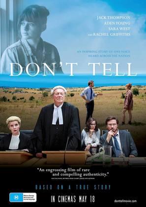 Don't Tell - Australian Movie Poster (thumbnail)